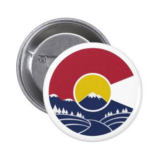Montagne rocheuse le Colorado C Badge