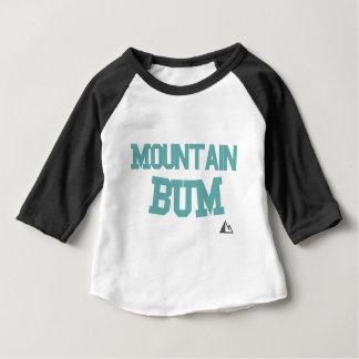 Montagne-Teal T-shirt Pour Bébé