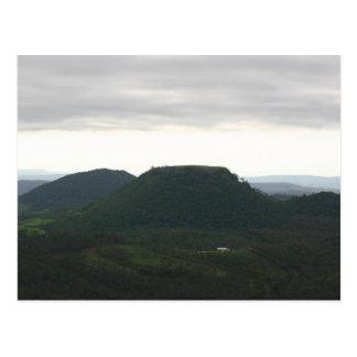 Montagne Toowoomba de dessus de Tableau Carte Postale