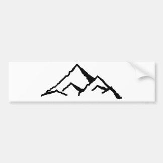 Montagnes Autocollant De Voiture