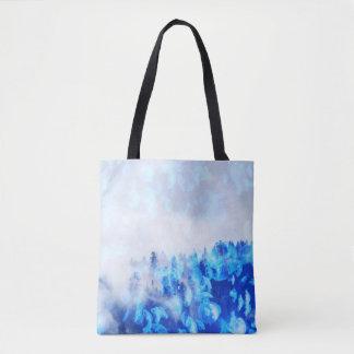 Montagnes bleues de méduses - Fourre-tout ou sac