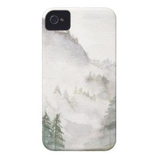 Montagnes brumeuses coques Case-Mate iPhone 4