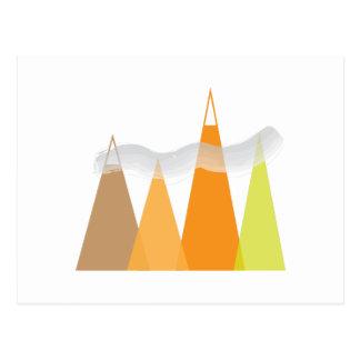 Montagnes Carte Postale