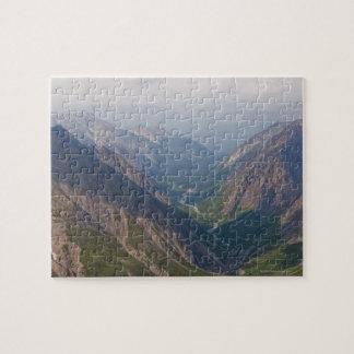 Montagnes de chaîne d'Alaska, Alaska, Etats-Unis Puzzle