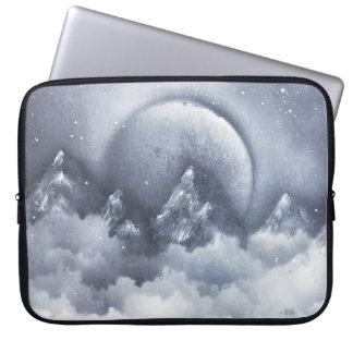 Montagnes de clair de lune protection pour ordinateur portable