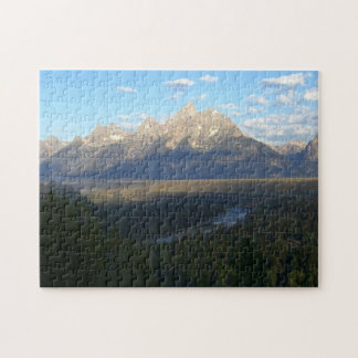 Montagnes de Jackson Hole (parc national grand de Puzzle