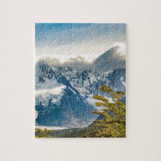 Montagnes de Milou les Andes, EL Chalten Argentine Puzzle