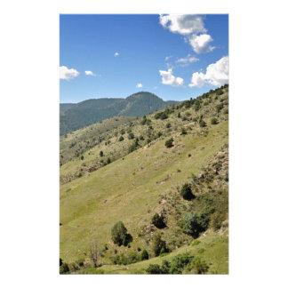 montagnes de morrison dans le Colorado Papeterie