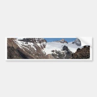 Montagnes de parc national de glacier, Argentine 2 Autocollant De Voiture