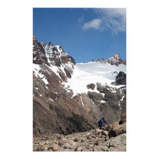 Montagnes de parc national de glacier, Argentine 2 Papeterie