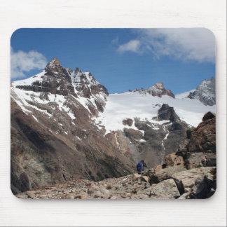 Montagnes de parc national de glacier, Argentine 2 Tapis De Souris