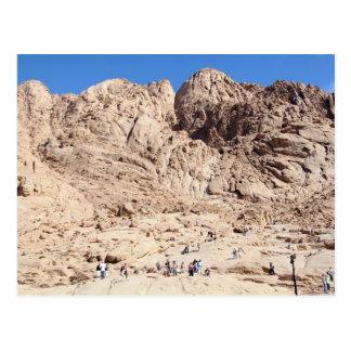 Montagnes de St Catherine, Sinai du sud, Egypte Carte Postale