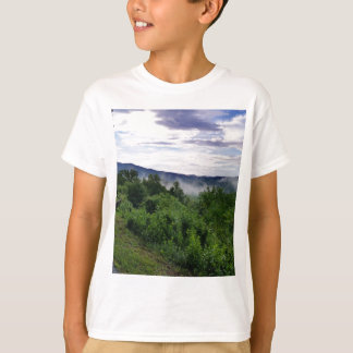 Montagnes fumeuses dans Great Smoky Mountains T-shirt