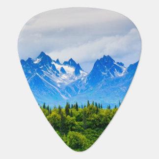Montagnes majestueuses de l'Alaska Onglet De Guitare