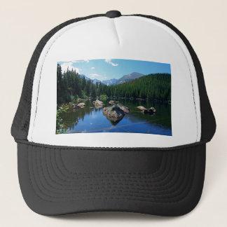 Montagnes rocheuses casquette