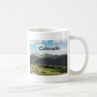 montagnes rocheuses dans le Colorado Mug
