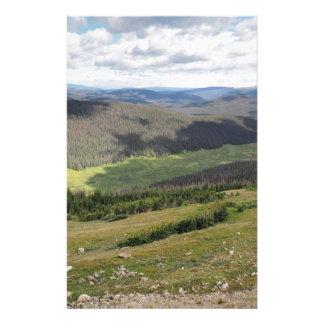 montagnes rocheuses dans le Colorado Papeterie