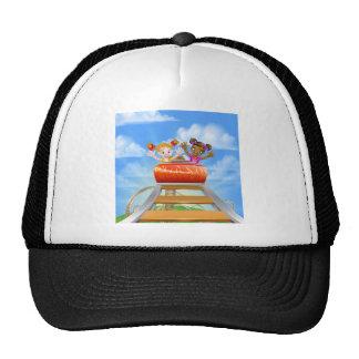 Montagnes russes d'équitation casquette trucker
