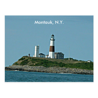 Montauk New York Carte Postale