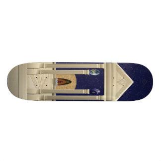 Monte de la planche à roulettes de temple mini skateboard 18,4 cm