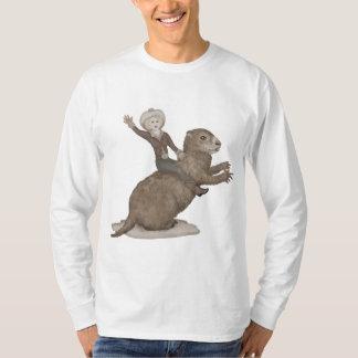 Monte du T-shirt géant de Groundhog