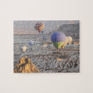 Monte en ballon le puzzle de photo de vol