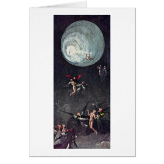 Montée du béni. Par Hieronymus Bosch Carte De Vœux
