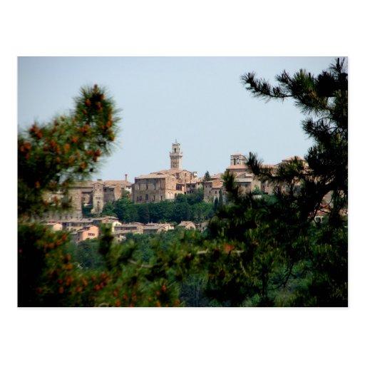 Montepulciano, Italie Cartes Postales