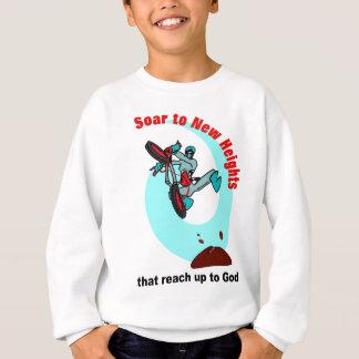 Montez aux nouvelles tailles qui atteignent sweatshirt