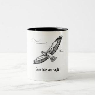 Montez comme une tasse d'aigle
