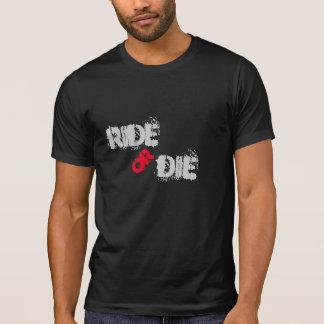 Montez ou mourez T-shirt inspiré de cycliste