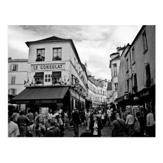 Montmartre, Paris Carte Postale