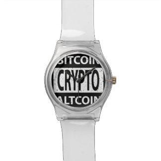 Montre Bitcoin Altcoin crypto