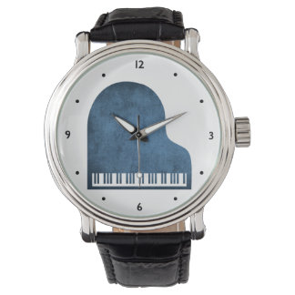 Montre Bleus de piano à queue