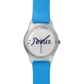 Montre-bracelet de sourire de Jésus Montres Bracelet