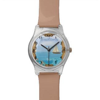 Montre-bracelet de voilier montres cadran