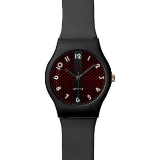 Montre bracelet May28th Black Rubis
