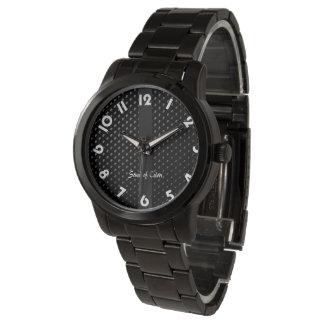 """Montre bracelet """"Noire Élégance"""" Montres Bracelet"""