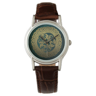 Montre celtique de dragon