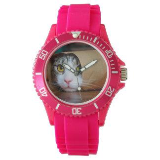 Montre Chat de papier - chats drôles - meme de chat -