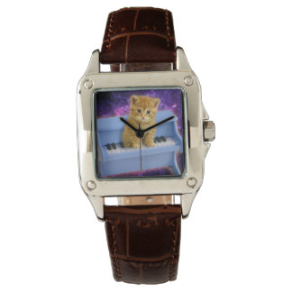 Montre Chat de piano