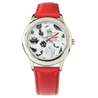 Montre Conception de motif de Halloween
