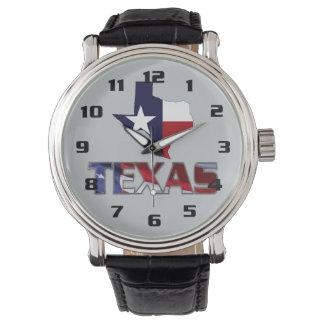 Montre Conception moderne très patriotique du Texas et de