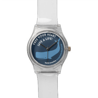 Montre de baleine montres bracelet
