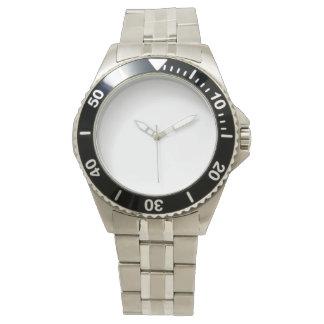 Montre de bracelet de l'acier inoxydable des montres