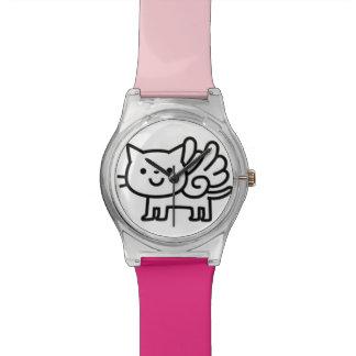Montre de chat d'aile montres bracelet