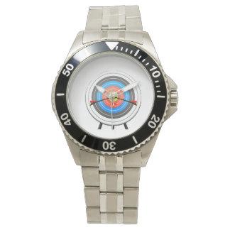 Montre de cible de tir à l'arc montres bracelet