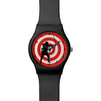 Montre de conception de tir à l'arc montres cadran