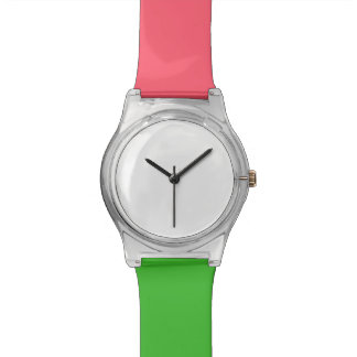Montre de corail et verte de May28th Montres