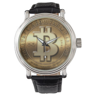 Montre de Cryptocurrency de symbole de logo de